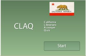 California Librarian Acronym Quiz