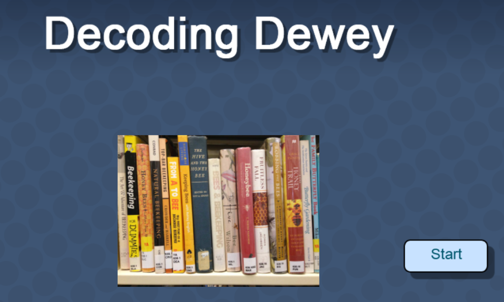 decoding dewey graphic links to program